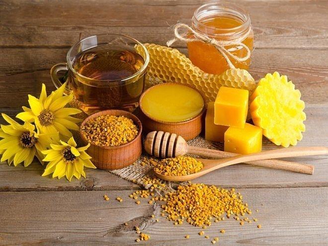 Лечение псориаза медом и продуктами пчеловодства