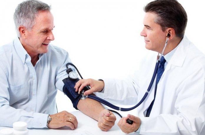 Измерение артериального давления при гипертонии
