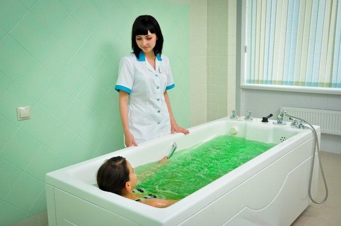 Лечение псориаза ваннами с морской солью