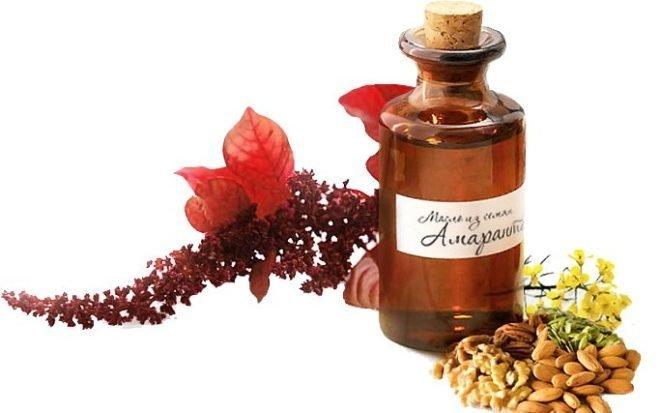 Амарантовое масло при псориазе - лечение псориаза чагой