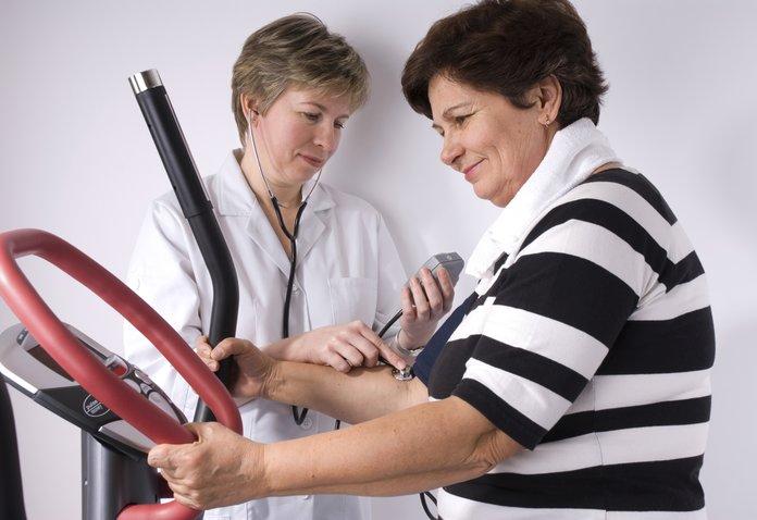 Измерение давления при занятиях спортом