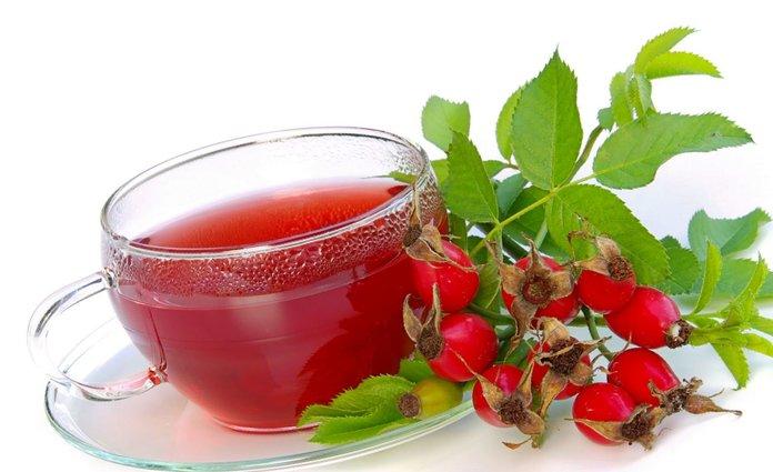 Лечебный чай с боярышником
