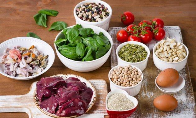 Продукты для поддержания оптимального уровня гемоглобина
