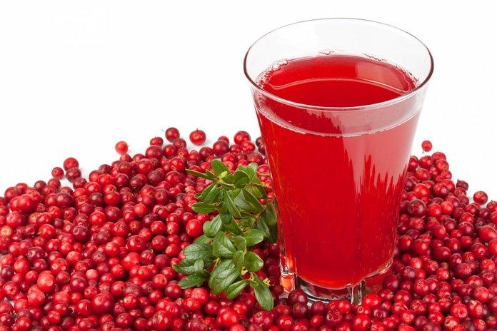 Клюквенный сок от гипертонии