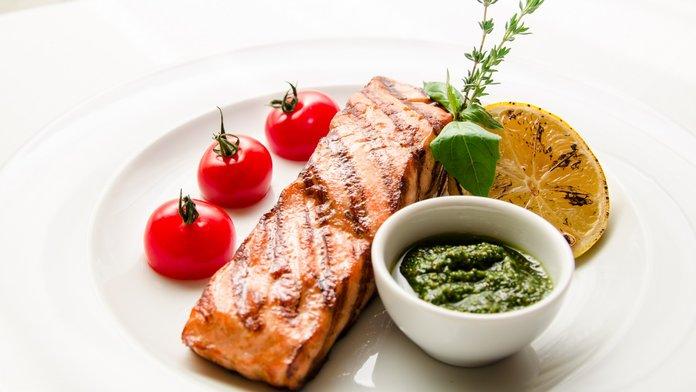 Тимьян в рыбном блюде