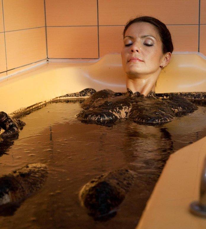 Грязевые ванны от высыпаний на ногах