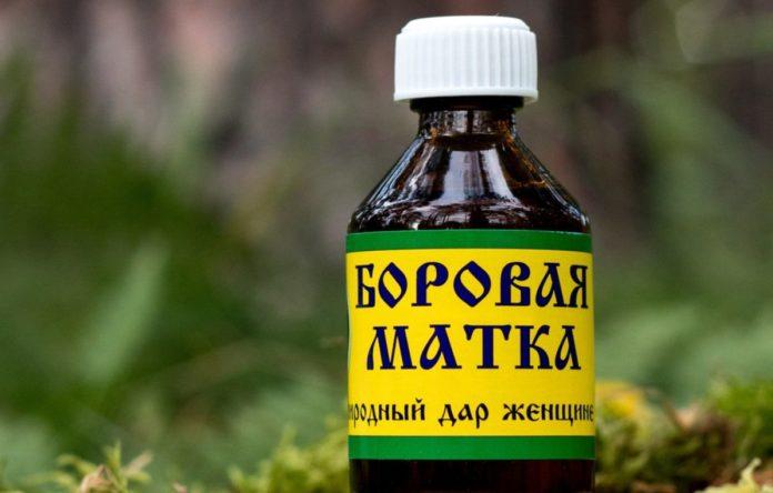 Аптечный препарат на основе баровой матки