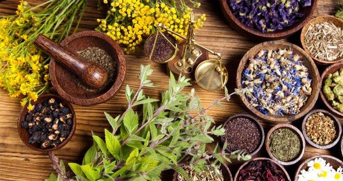 Сухие лекарственные растения