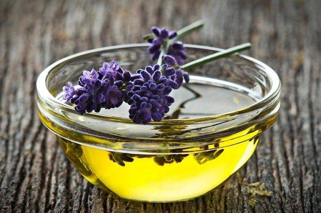 Домашнее масло с лавандой