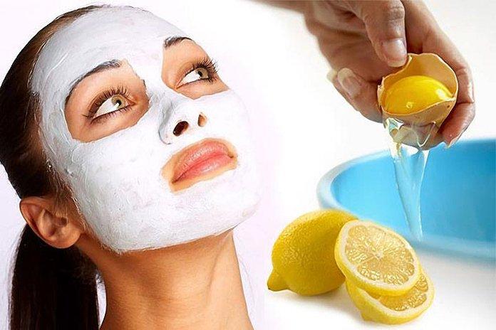 Лимонная маска от прыщей
