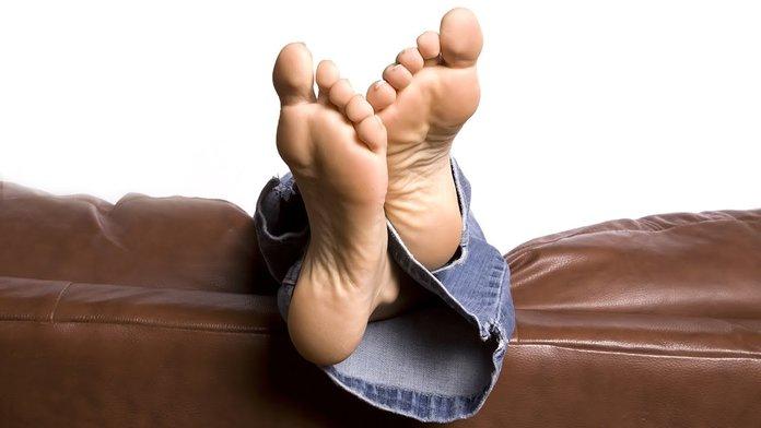 Здоровые стопы ног