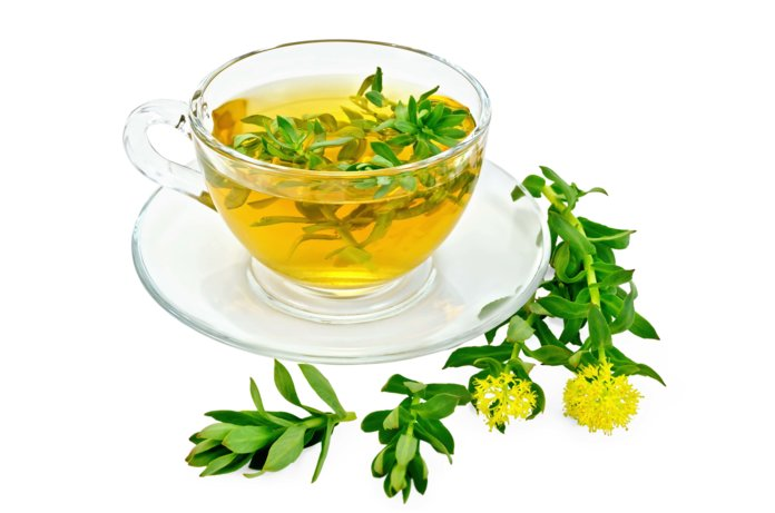 Чай с родиолой (золотым корнем)