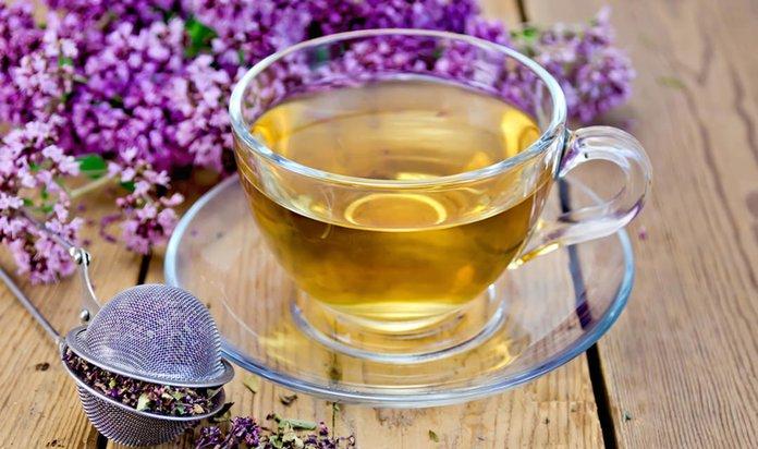 Травяной чай с тимьяном