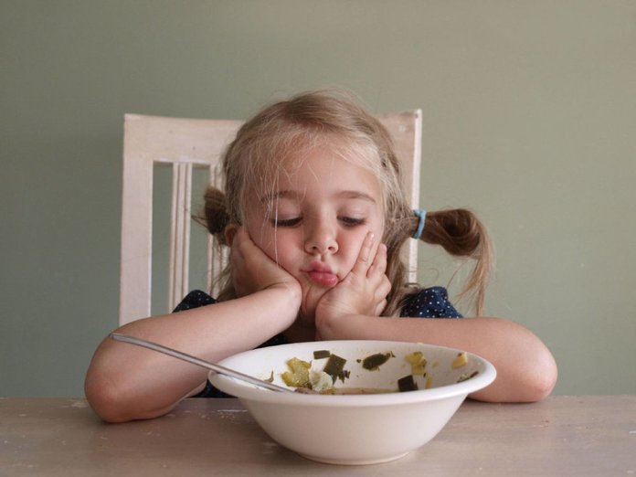 У девочки пропал аппетит