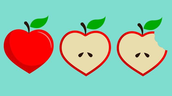 Польза яблок для сердца
