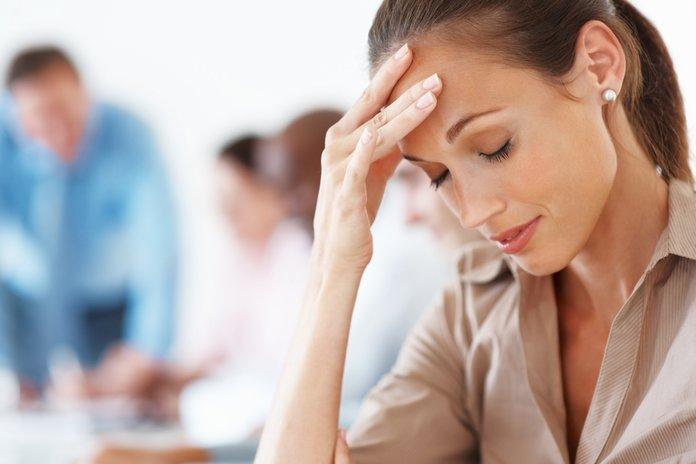 Головные боли - симптом гипертонии