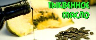 Лечебные свойства тыквенного масла