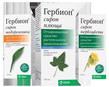 сироп от кашля от аллергии