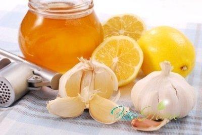 мед, лимон, чеснок народные средства