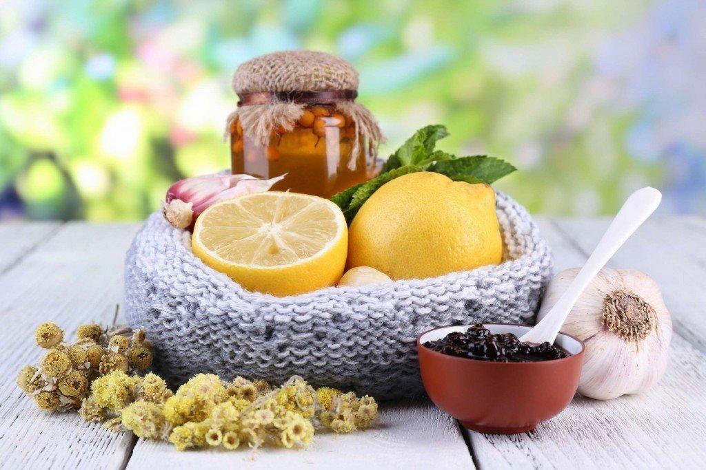 Лимон, чеснок и.т.д