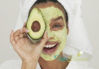 авокадо и маски для лица
