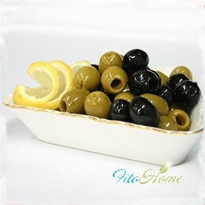 ягоды оливы  с лимоном