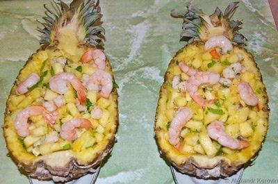 шедевры из ананаса