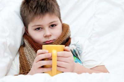 детский организм слабо противостоит болезни
