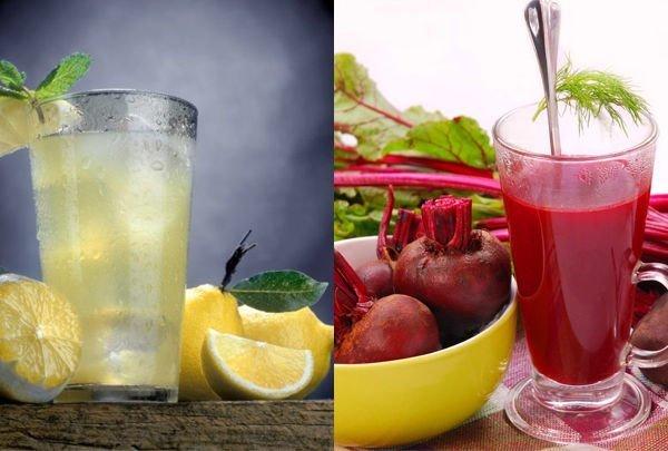 соки для лечения желчного пузыря
